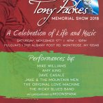 1st Annual Anthony Packes Memorial Show
